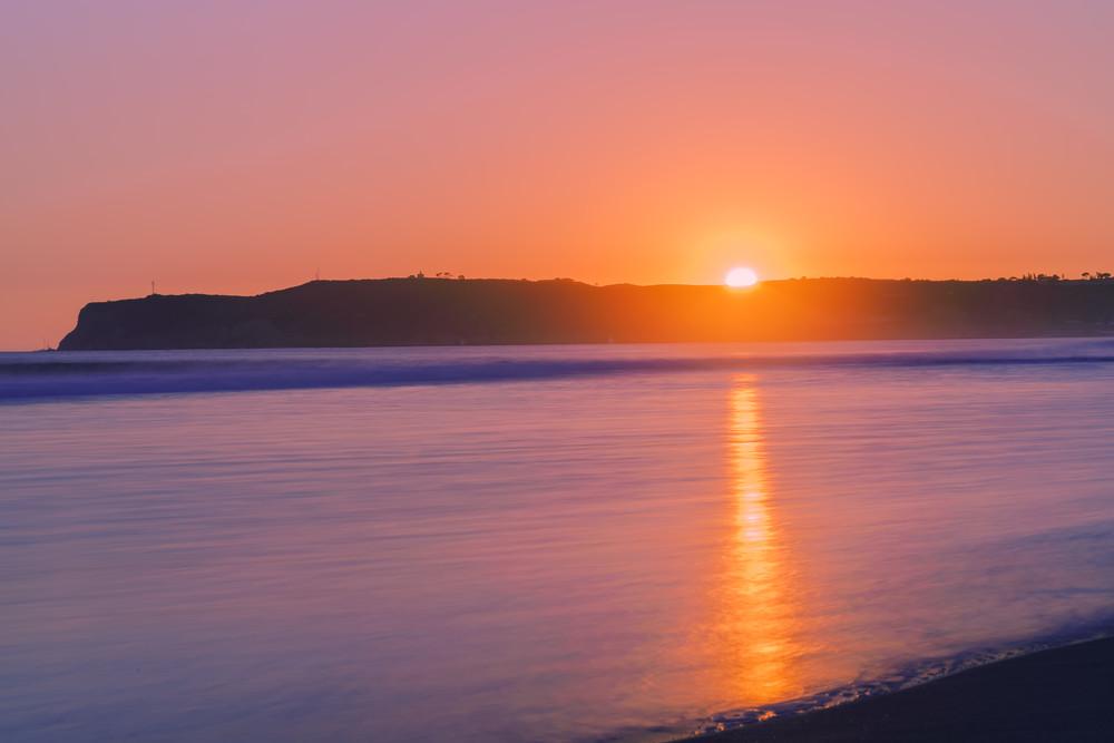 Sun Beam at Coronado Beach, San Diego by McClean Photography