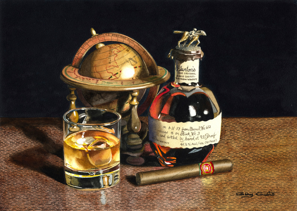 Barrel No. 612 Art | Gary Curtis Watercolors