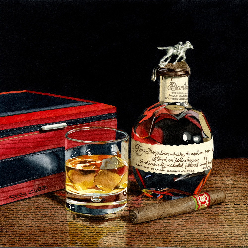 Blantons Art | Gary Curtis Watercolors