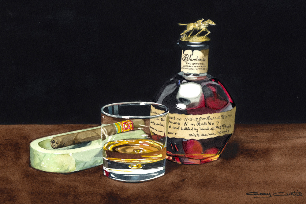 Blantons & Fuente Art | Gary Curtis Watercolors