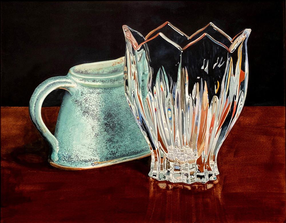 Crystal Elegance Art | Gary Curtis Watercolors