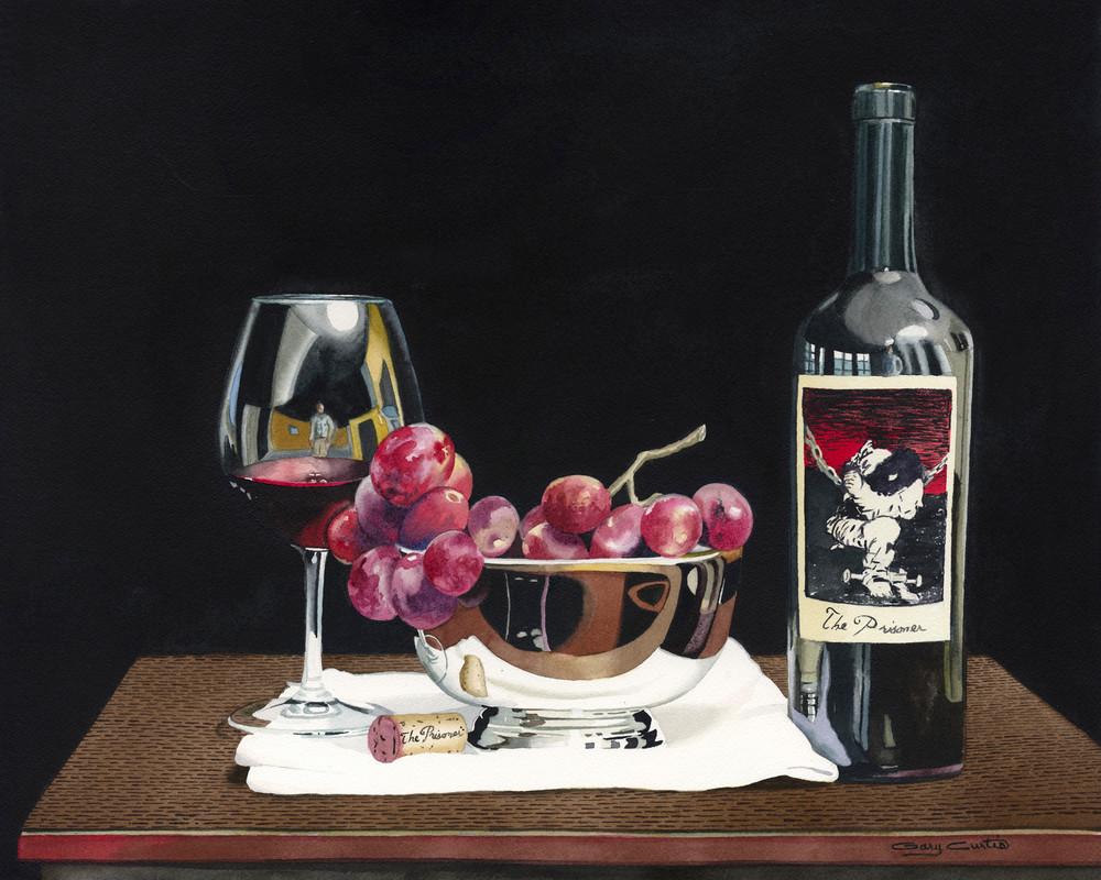 Grapes Of Wrath Art   Gary Curtis Watercolors