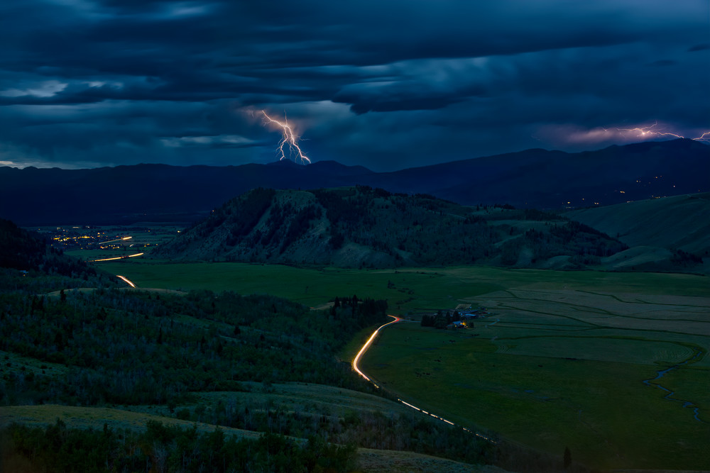 Summer Thunderstorm, Wyoming