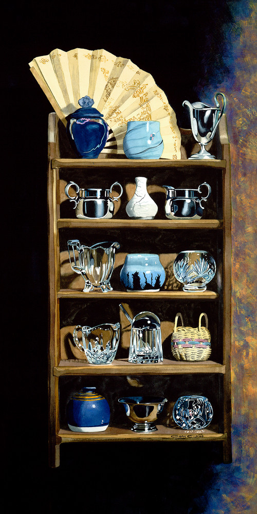 Waiting To Be Arranged Art | Gary Curtis Watercolors
