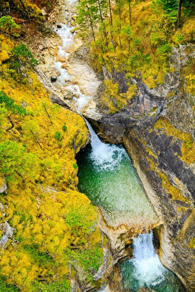 Poellat Gorge Falls II - A Fine Art Photograph by Marcos R. Quintana