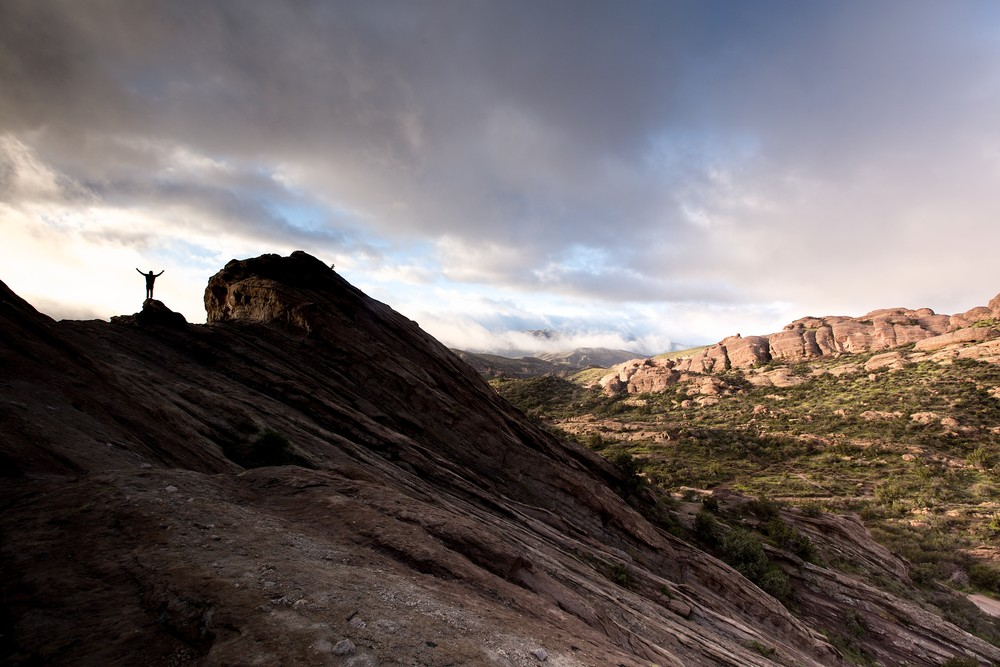 Celebrating A New Day In Vasquez Rocks Photography Art | Chad Wanstreet Inc