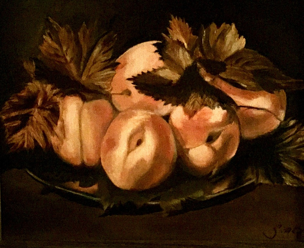 Caravaggio's Peaches Art | Scott Dyer Fine Art