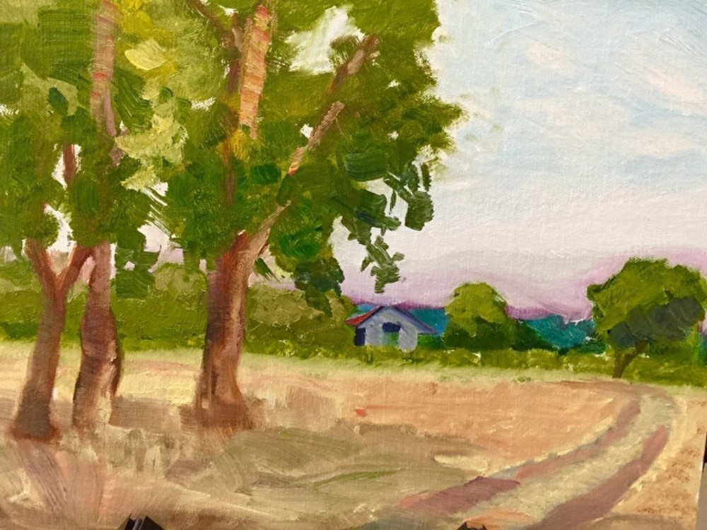 Sauvie Island Afternoon Art | Scott Dyer Fine Art