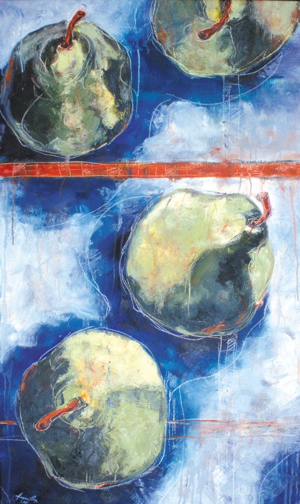 Blue Orange1 Art | Joan Cox Art