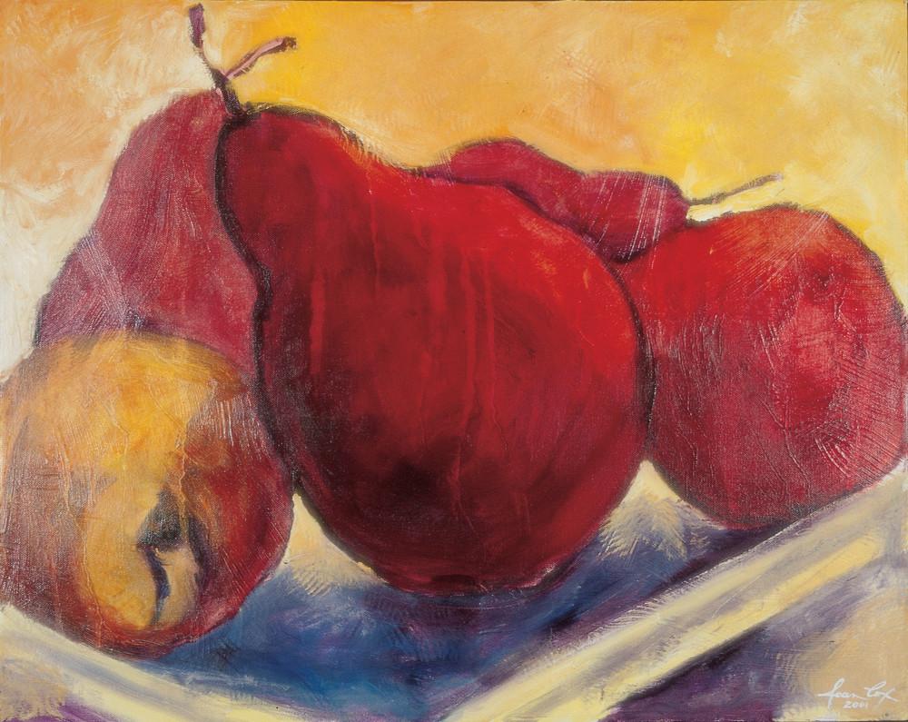 Red Yellow 2 Art | Joan Cox Art
