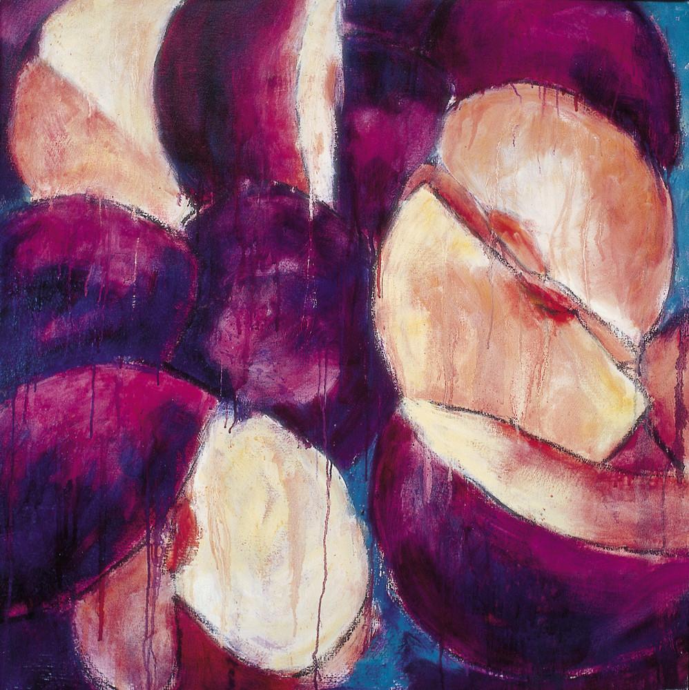 Violet Plums Art | Joan Cox Art
