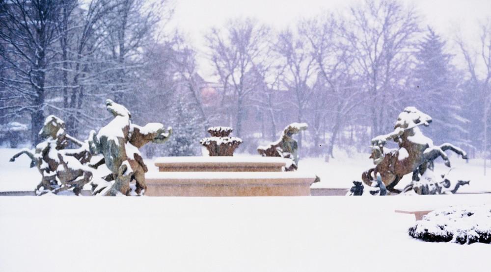 Kansas City Winter Art | Wild Ponies creations