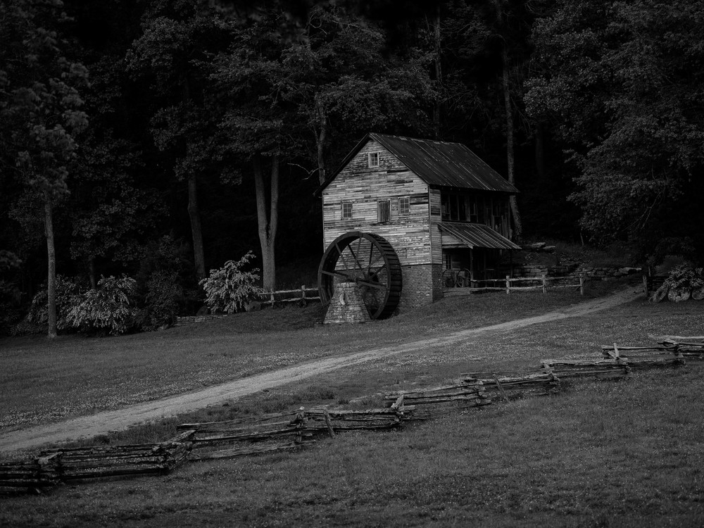 Appalachian Gristmill Photography Art | N2 the Woods Photography