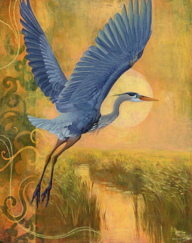 Blue And Gold Art | Studio Girard