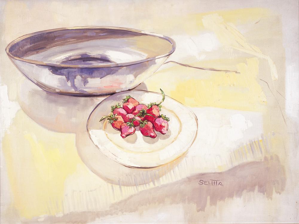 Strawberries Art   Goldwoman Fine Art