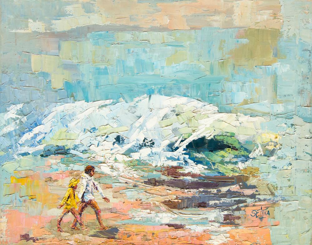 Beach Walkers Art | Goldwoman Fine Art