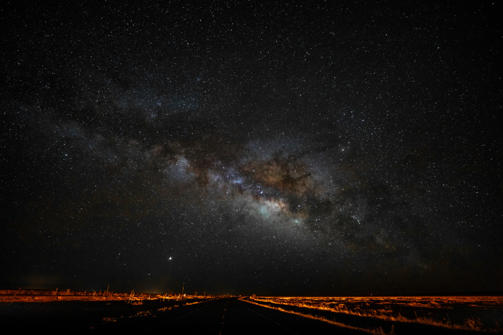2am in west Texas with the Milky Way