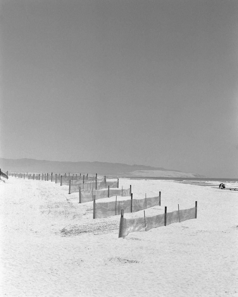Sand Fences   Oceano Beach Photography Art | Julian Whatley Photography