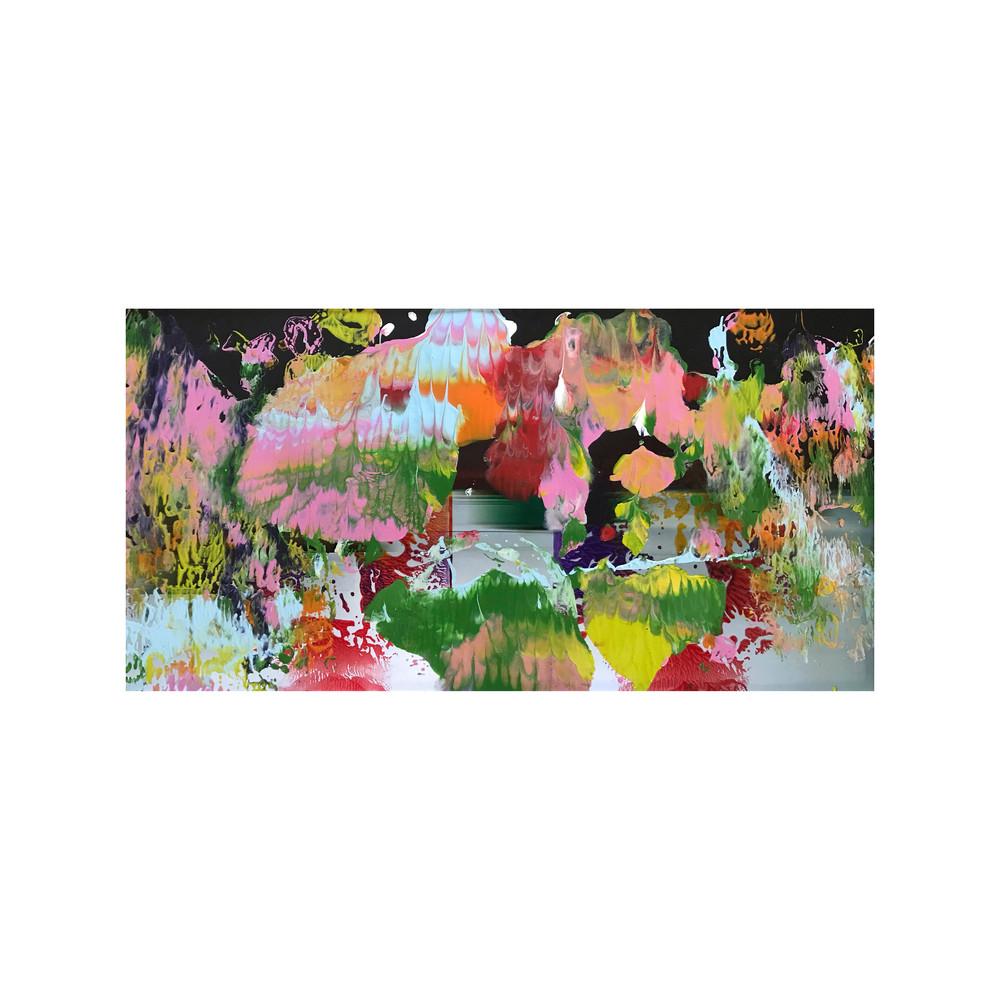 Night Flowers Party Art | Maciek Peter Kozlowski Art