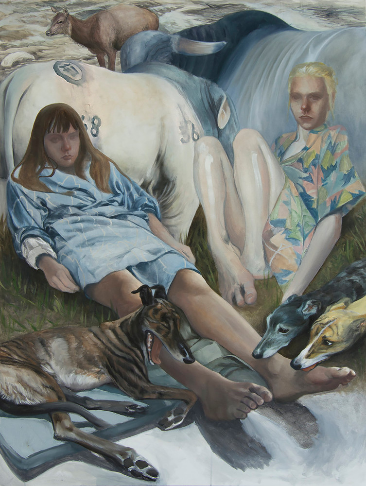 The Girls Who Hang With Cattle Art | Kym Day Studio