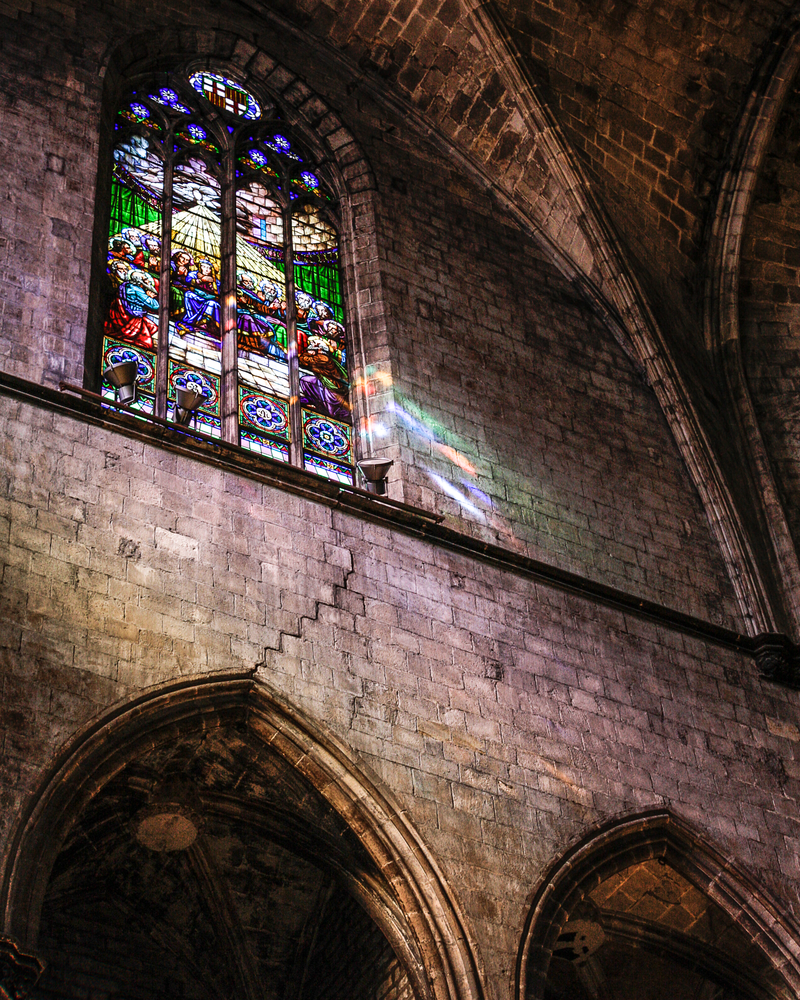 Basilica Del Santa Maria Del Mar Photography Art | Happy Hogtor Photography