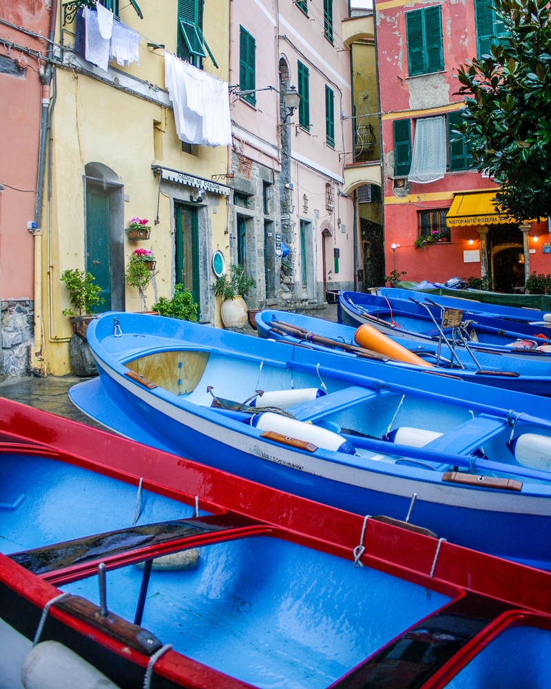 Boats In Blue Photography Art | Happy Hogtor Photography