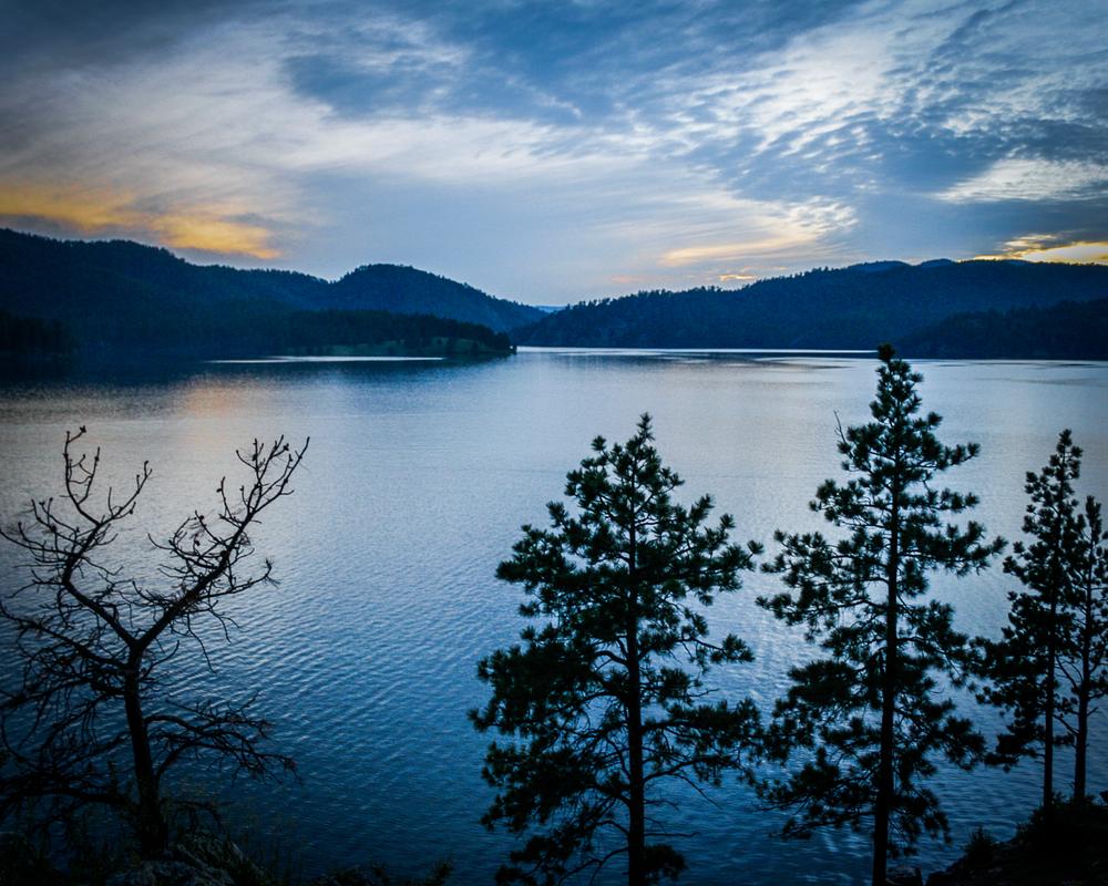 Lake Sylvan Sunset Photography Art | Happy Hogtor Photography