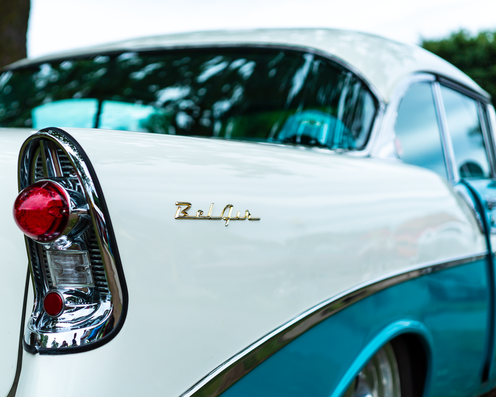 1956 Bel Air Taillight Photography Art | Happy Hogtor Photography