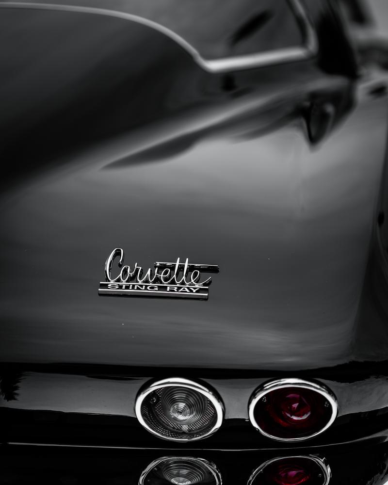 1963 Corvette Sting Ray Photography Art | Happy Hogtor Photography