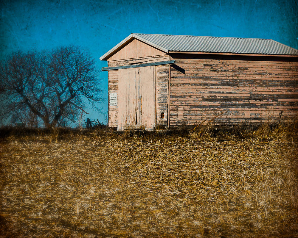Pink Weathered Barn Photography Art | Happy Hogtor Photography