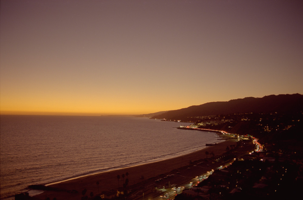 Pch To Malibu   Twilight Photography Art | Julian Whatley Photography