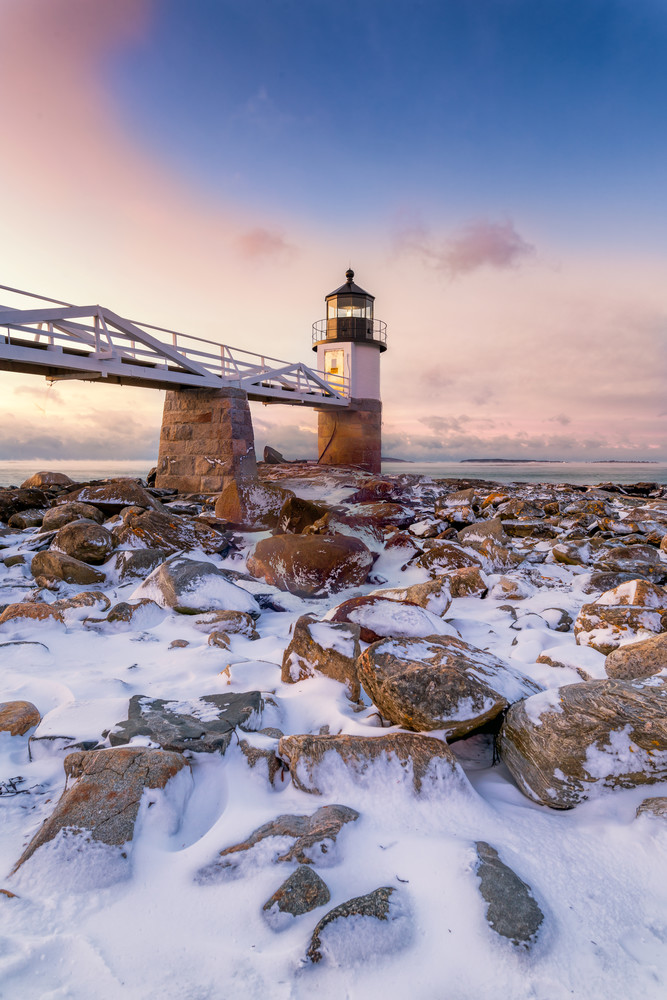 Winter Morning At Marshall Point Photography Art | Jesse MacDonald Photography