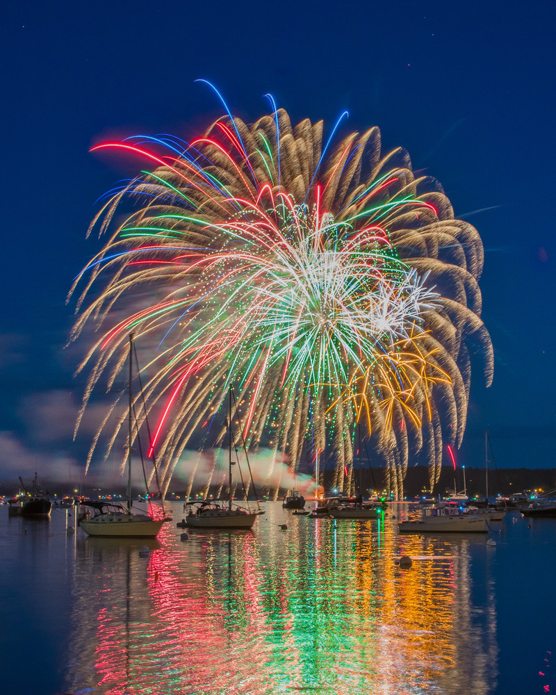 Boothbay Harbor Independence Day Iv Photography Art | Jesse MacDonald Photography