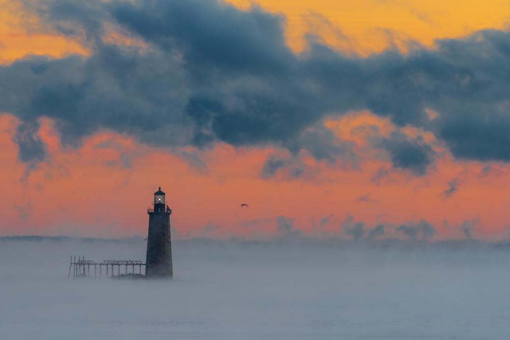 Sea Smoke At Rams Ledge Photography Art | Jesse MacDonald Photography