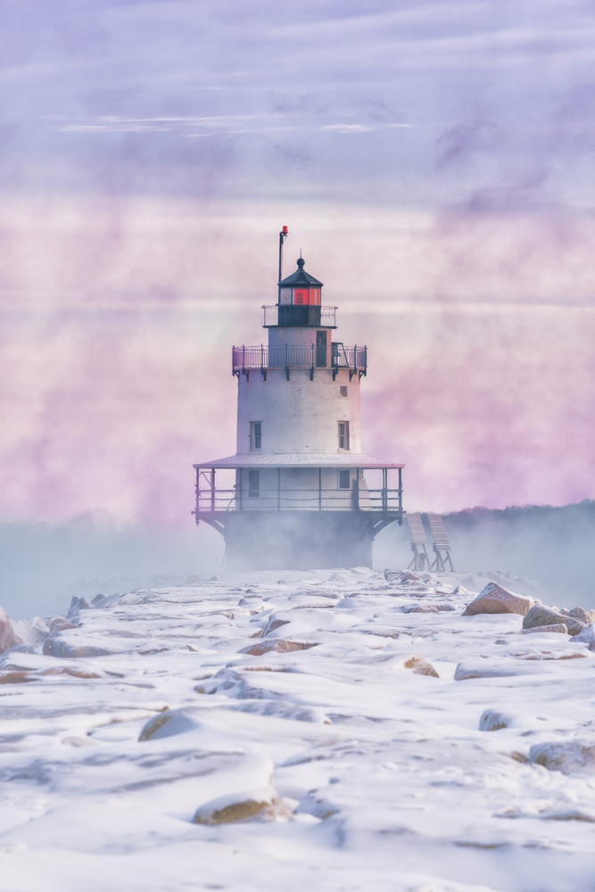 Sea Smoke At Spring Point Photography Art | Jesse MacDonald Photography