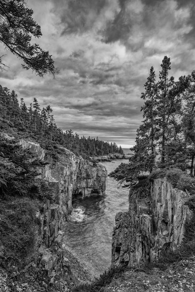 Schoodic Storm Photography Art | Jesse MacDonald Photography