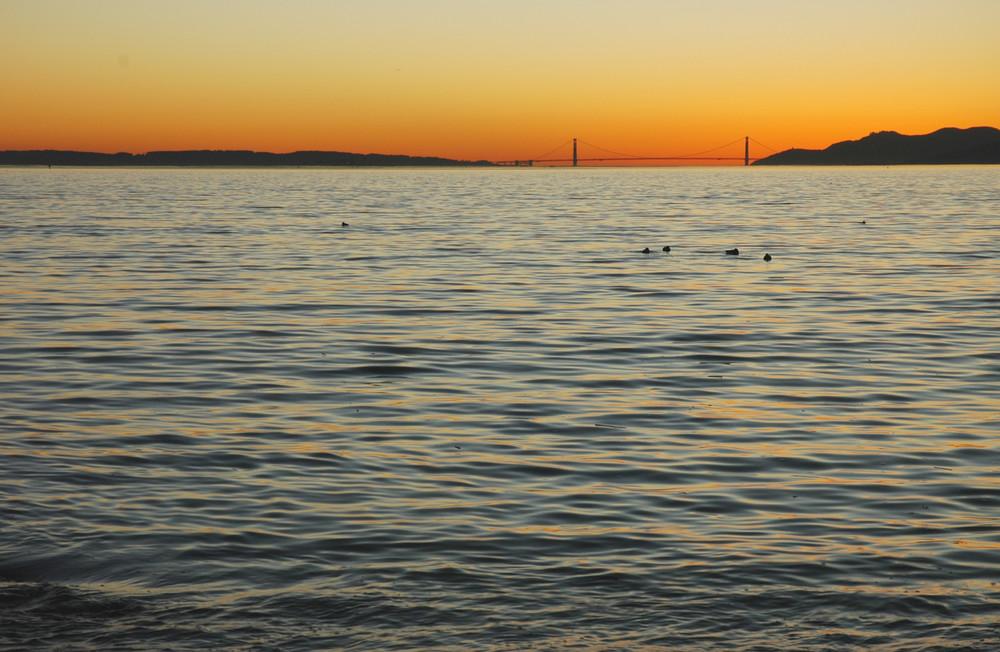San Francisco Bay And The Golden Gate Bridge Photography Art | David Louis Klein