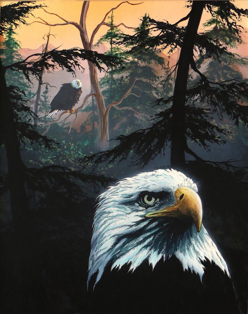 Daybreak In Black Canyon Art   originalz