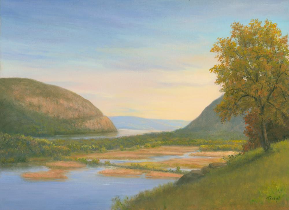 Storm King Mountain And Constitution Marsh Art | Tarryl Fine Art