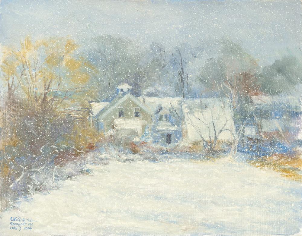 Snow House Art | capeanngiclee