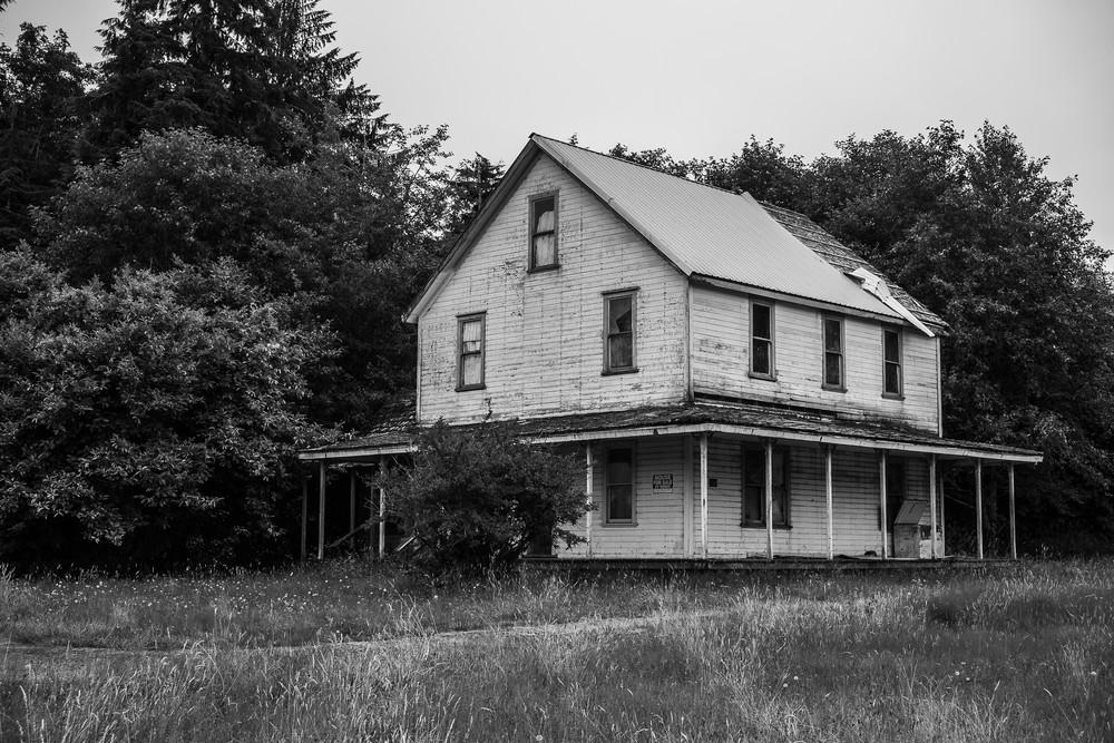 Abandoned Farmhouse, North Nemah Road, Washington, 2018