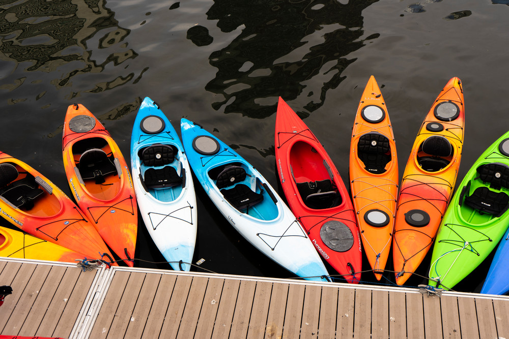 Kayaks Photography Art | Paul J Godin Photography