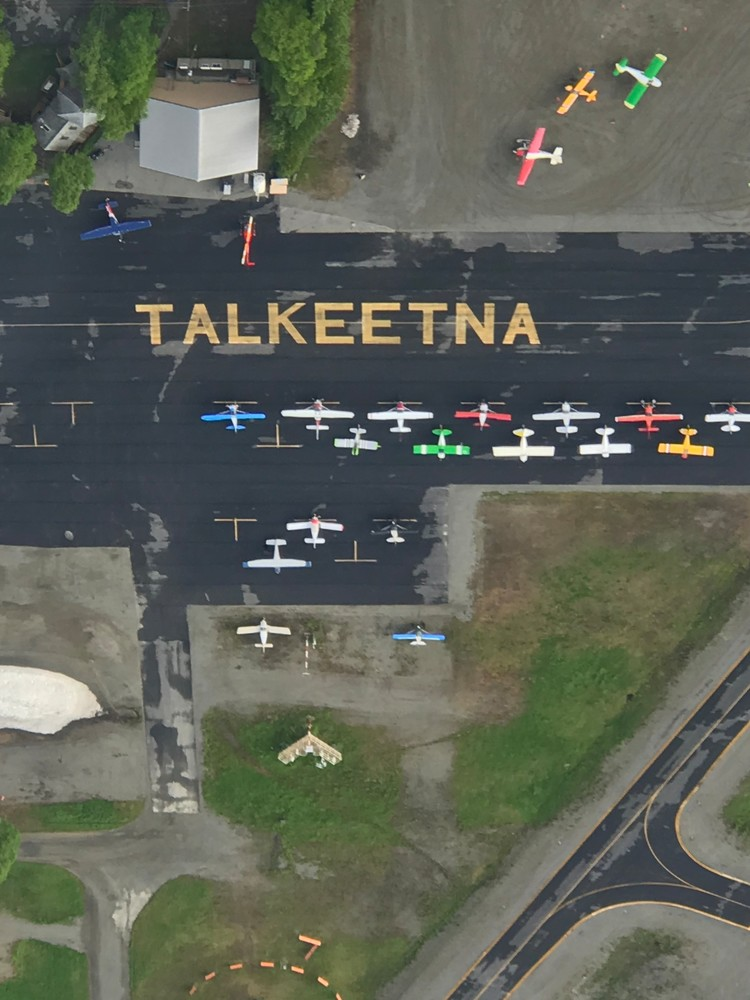 Talkeetna Airport Aerial Photography Art | Visionary Adventures, LLC