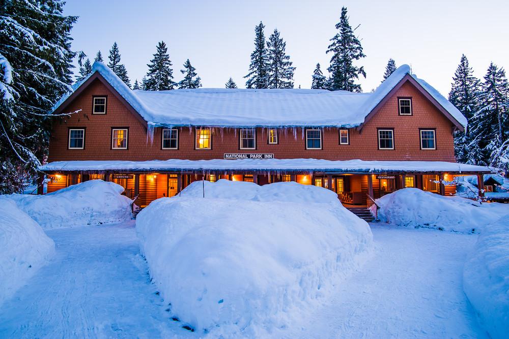 Winter, National Park Inn, Mount Rainier, Washington, 2017