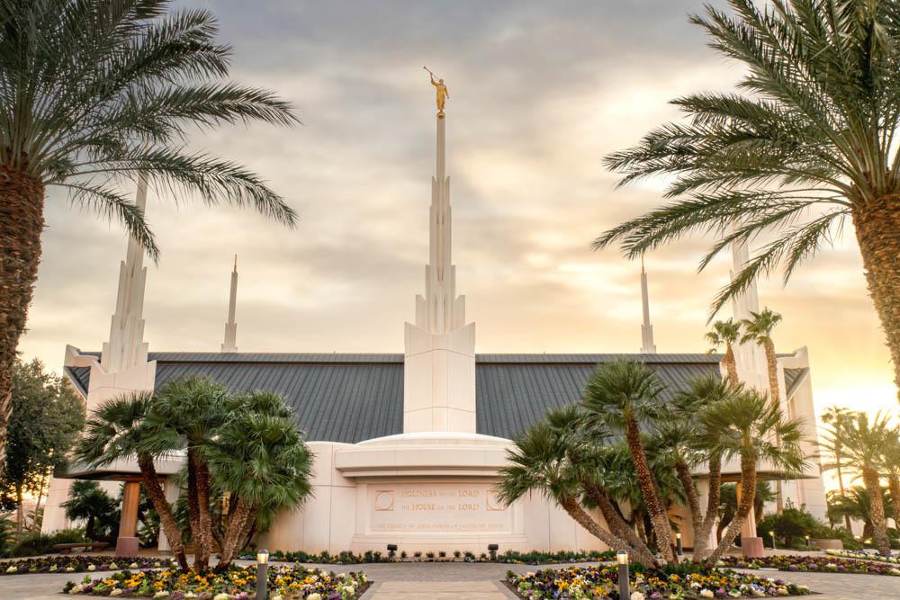 Las Vegas Nevada Temple Serenity