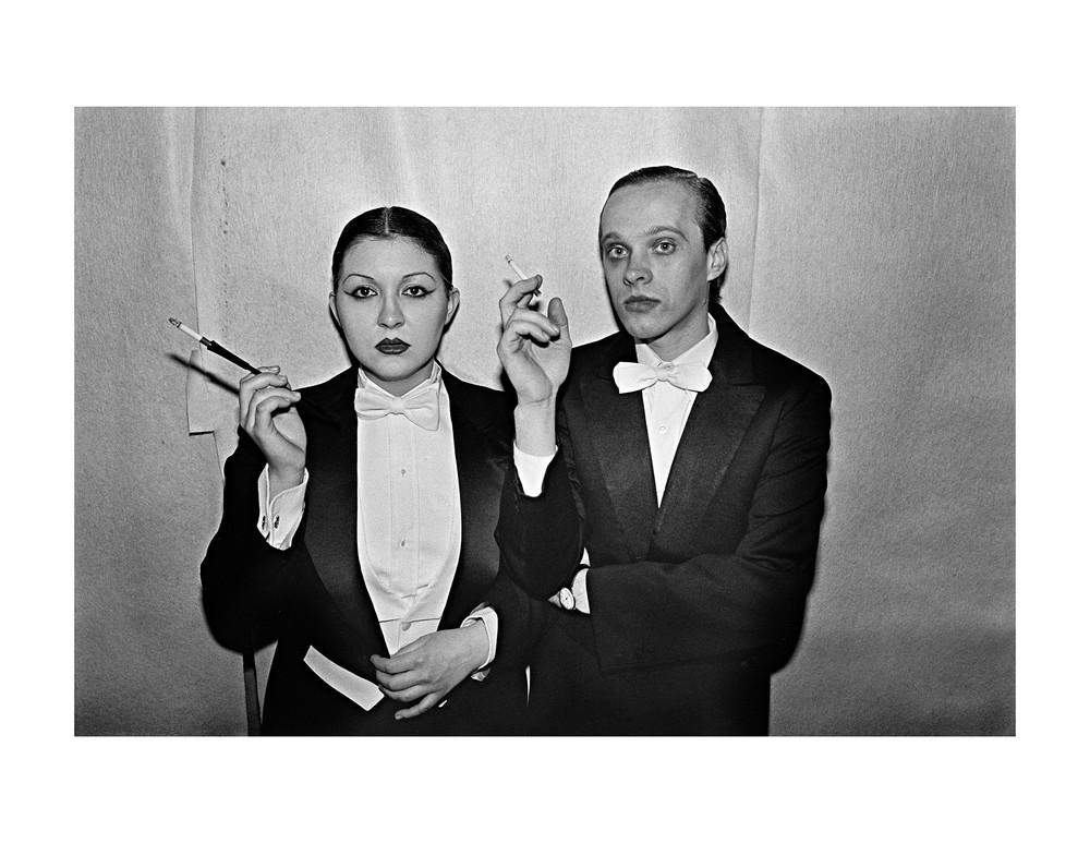 Studio 54 Couple, 1977 Photography Art | Bill Bernstein Fine Art Collection