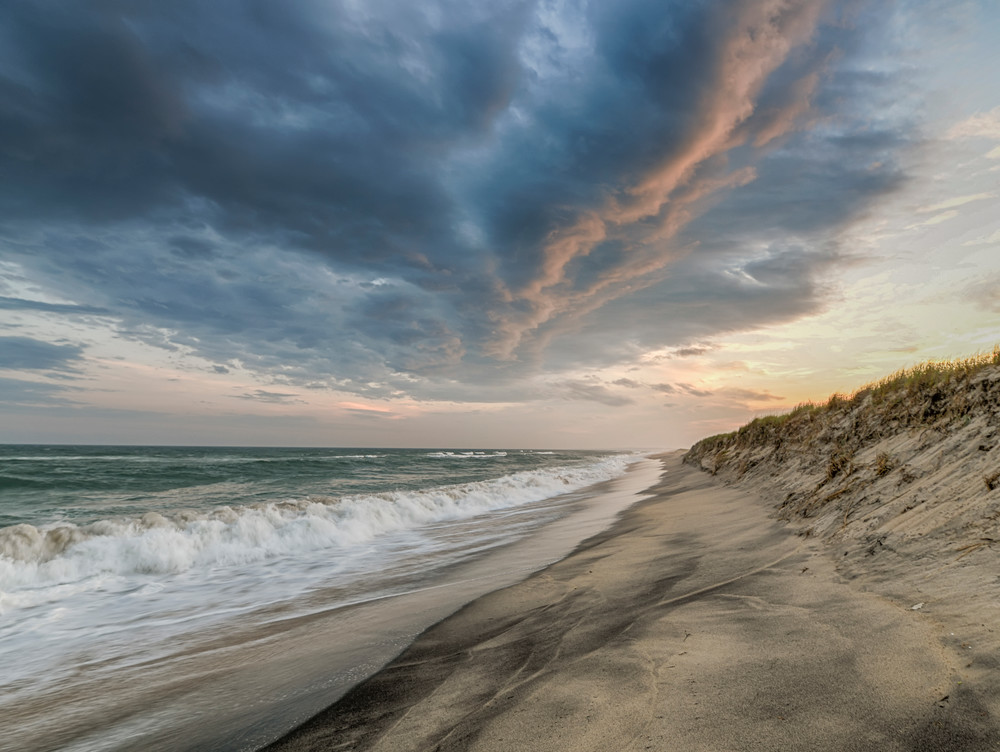 Long Point Beach Clouds Art | Michael Blanchard Inspirational Photography - Crossroads Gallery
