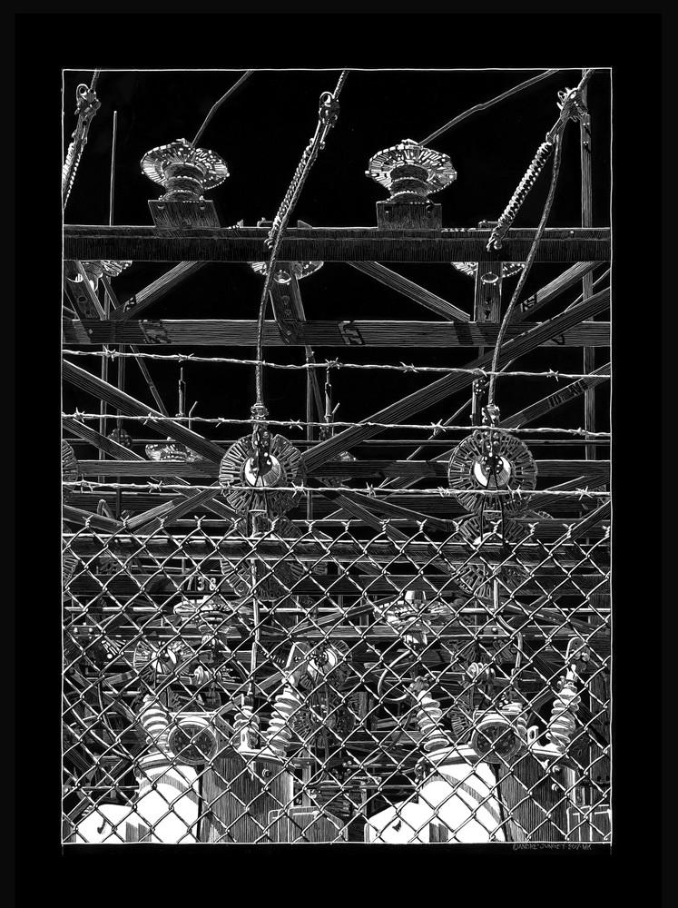 Transformer Station 738 Art   Andre Junget Illustration LLC