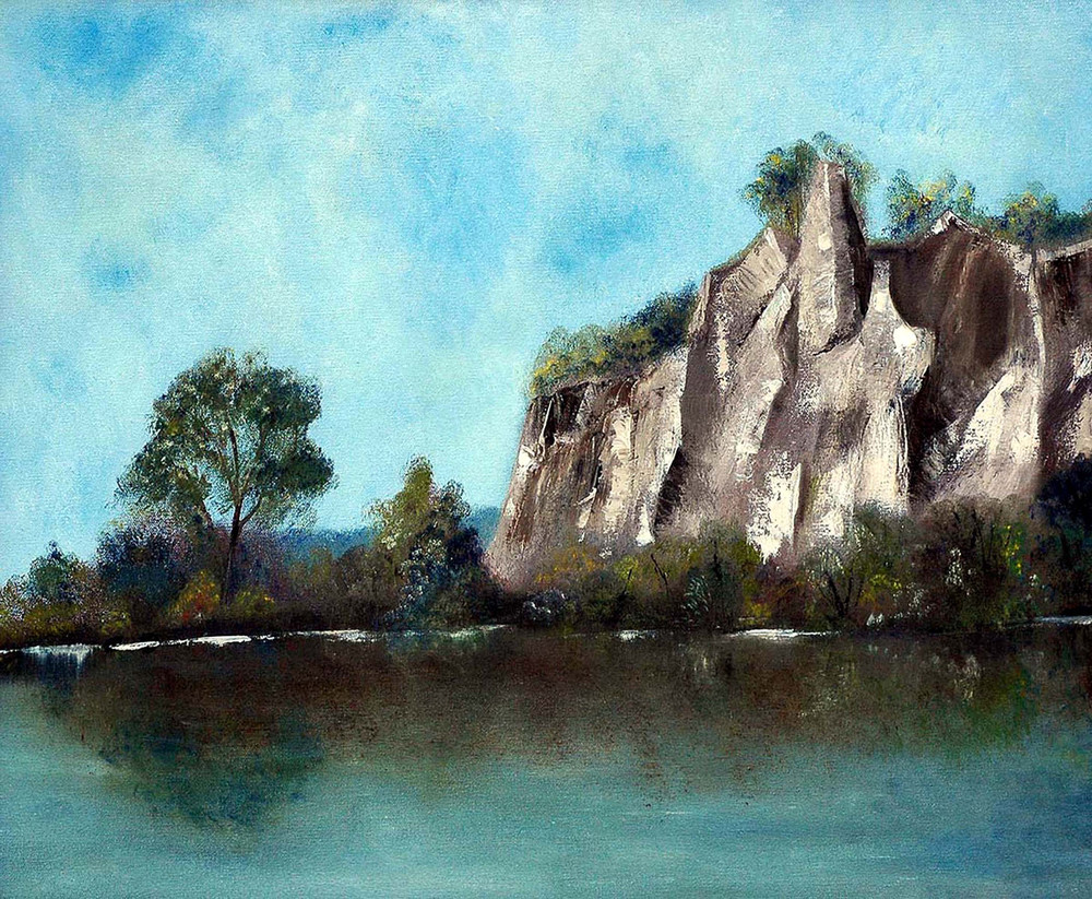 First Visit   The Scarborough Bluffs Art | Sharon Bacal - Fine Art