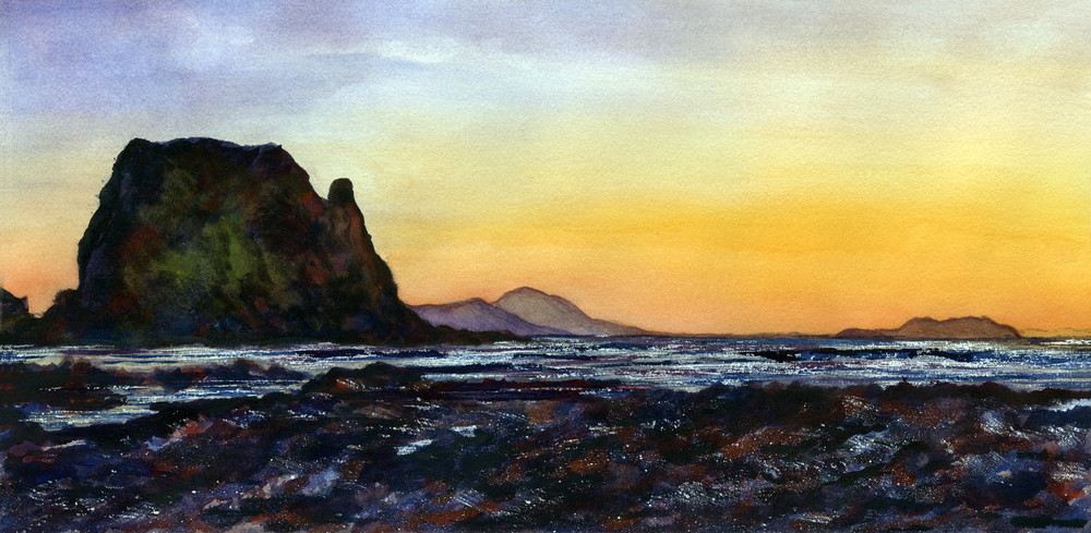 Magnificent  Sunset Art   Sharon Bacal - Fine Art